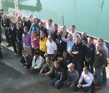 Vendée Globe :tous les skippers étaient présents ce samedi midi aux Sables-d'Olonne