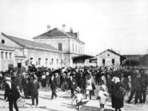 Dimanche 18 décembre à 11h00, commémoration des 150 ans de l'arrivée du train aux Sables et inauguration de la place Napoléon III