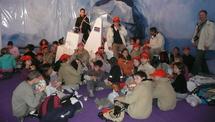 25 élèves des Alpes-Maritimes dans le village du Vendée Globe