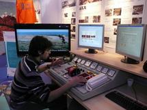 Village du Vendée Globe : découvrez un simulateur de machines d'un navire
