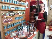 Le chocolatier Gelencser a créé des chocolats Vendée Globe.