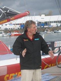 Vendée Globe :Derek Hatfield – Votre nom autour du monde