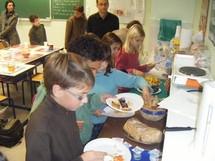 Programme nutrition Harmonie Vendée s'engage avec l'Ecole Saint Pierre de Talmont Saint-Hilaire