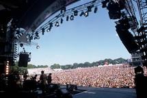 Le Festival des vieilles Charrues a enregistré  215  000 entrées en 2008.