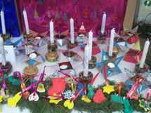 Marché de Noël à Champ Saint Père