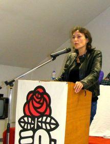 Sylviane Bulteau, nouvelle secrétaire fédérale du parti socialiste de Vendée