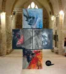Oeuvres de Jean-François Dolbeau, qui expose les 28, 29 et 30 novembre au Salon d'automne d'Aizenay.