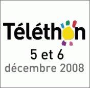 Les animations du Téléthon 2008 à la Roche-sur-Yon