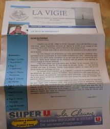 La Vigie, la revue des marins  et marins anciens combattants des Olonnes