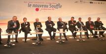 Ministre, élus et responsables de la SNCF et de Réseau Ferré de France au centre des Congrès des Atlantes.