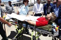 Yann Eliès en route vers l'hôpital, Foncia creuse l'écart