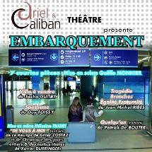 Théâtre à Challans avec  ' EMBARQUEMENT'