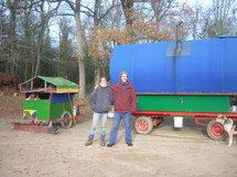 Leaticia et Pierre  partent en roulotte parcourir l'Europe