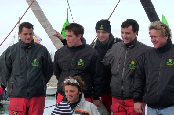 Arnaud Boissières termine septième