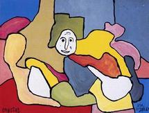 Le conteur Gérard Potier va faire découvrir mardi, jeudi et vendredi au conservatoire des lettres du peintre Chaissac.