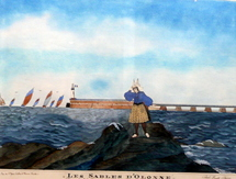 L'exposition sur Paul-Emile Pajot a lieu au musée des Sables-d'Olonne jusqu'au 29 mars.