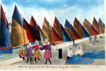 L'exposition des oeuvres de Pajot se poursuit au musée des Sables-d'Olonne.