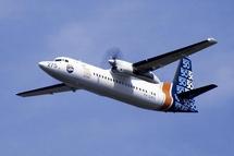 Les vols Nantes-Londres seront assurés à bord de Fokker 50.