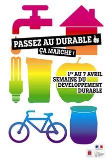 La semaine du développement durable en Vendée du 1° au 7 avril