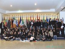 60 élèves du Lycée Ste Marie du Port à  Strasbourg et Bruxelles.