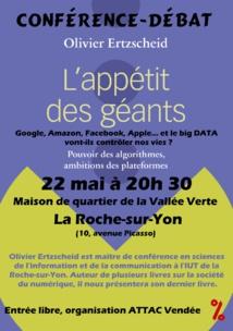La Roche-sur-Yon: conférence débat sur
