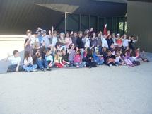Visite à la chabotterie et à l'Historial de la Vendée  avec les élèves de l'Ecole Saint Pierre