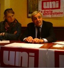 La réforme des Universités mobilise les militants de l'UNI Vendée
