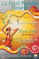 Festiparade fleurie aux Sables d'Olonne le dimanche 7 juin
