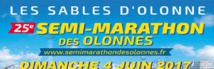 Les Sables d'Olonne: 25ème édition du  Semi-marathon des Olonnes le 4 juin