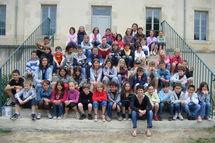 L'école Saint Pierre découvre Saint Sauveur de Mouilleron en Pareds