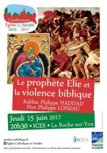 Conférence à deux voix, juive et chrétienne, sur la violence dans la Bible