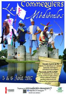 Les médiévales de Commequiers: samedi 5 et dimanche 6 août