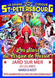 Laissez-vous emporter au pays des steppes et des Toundras le mardi 8 août à Jard-sur-Mer