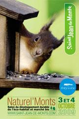 Saint-Jean-de-Monts accueille les 3 et 4 octobre le salon du développement durable et de l'éco-habitat Naturel