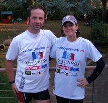 David et Nadia Gendron, coiffeurs à LA ROCHE SUR YON ont décidé de s'engager sur le marathon de New Yord.