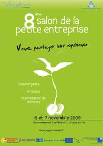 Le salon de la petite entreprise les 6 et 7 novembre dans la galerie des Flâneries, à la Roche sur Yon.