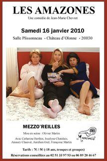 Théâtre Mezzo'reilles: Les Amazones