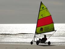 Saint-Jean-de-Monts: grand prix national des Pays de la Loire en char à voile