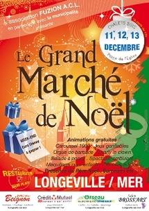 Longeville-sur-Mer organise son Marché de Noël les 11,12 et 13 décembre Place de l'Eglise