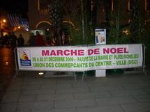 Les Sables d'Olonne: le Marché de Noël s'installe sur le parvis de l'Hôtel de Ville