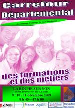 La Roche-sur-Yon : carrefour des formations du 9 au 11 décembre aux Oudairies