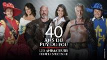 M6 fête les 40 ans du Puy du Fou en prime avec 5 animateurs phares de la chaîne