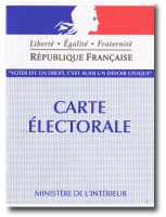 Inscription sur les listes électorales pour les élections régionales de mars prochain