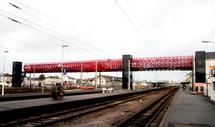 Inauguration de la nouvelle passerelle sur le parvis de la gare le samedi 6 février à 11h00