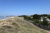 A Noirmoutiers camping rime avec environnement et protection des dunes