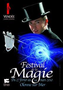 Olonne-sur-Mer: Festival de Magie du 5 mars au 14 mars