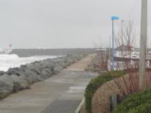Vigilance de niveau ORANGE pour vent violent, vigilance de niveau ORANGE pour le risque de vagues-submersion