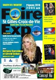 Plus de 120 exposants à la Foire exposition à Saint-Gilles-Croix-de-Vie du 2 au 5 avril