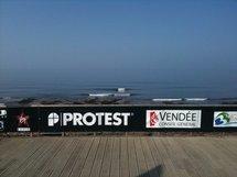 Protest Vendée Pro 2010 à Brétignolles-sur-Mer