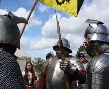 3° rassemblement européen des Compagnies médiévales au Château de Saint-Mesmin dimanche 25 avril de 14h00 à 18h00